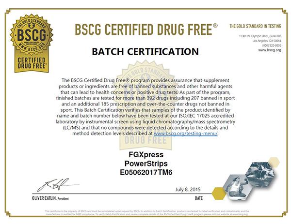 certificate drog kisebb